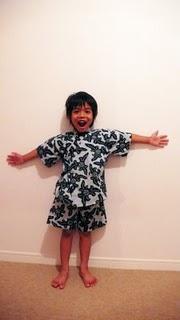 Boy's yukata