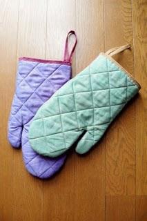 Kitchen mittens
