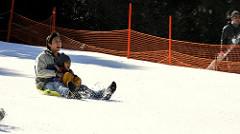 Snow-sliding
