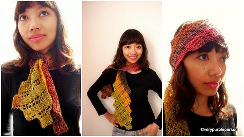 Short argosy scarf