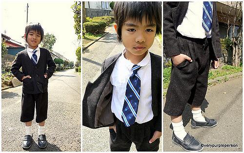 Shogakko ceremony suit