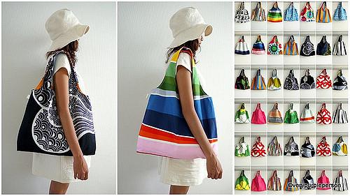 Reversible bags!