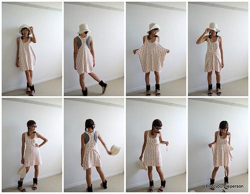 Racerback knit dress/swimsuit coverup