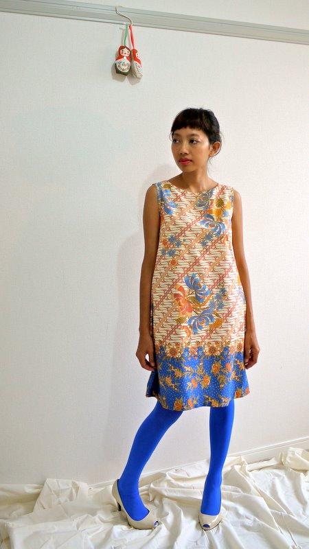 Two batik dresses