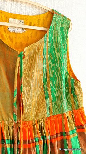 Reversible jumper dress