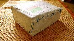 Package from Jogja, Indonesia