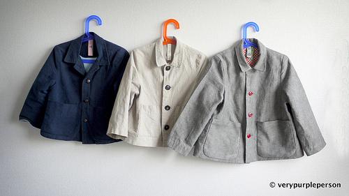 Three Jackets