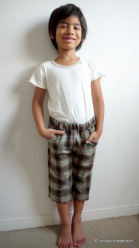 Side slant pocket