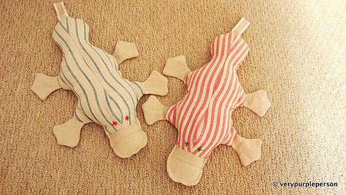 Christmas platypuses