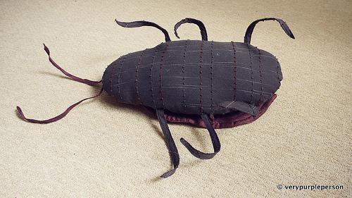Cockroach plush