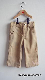 KCWC: Khaki pants