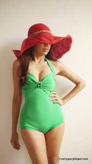 Green Bathing Suit