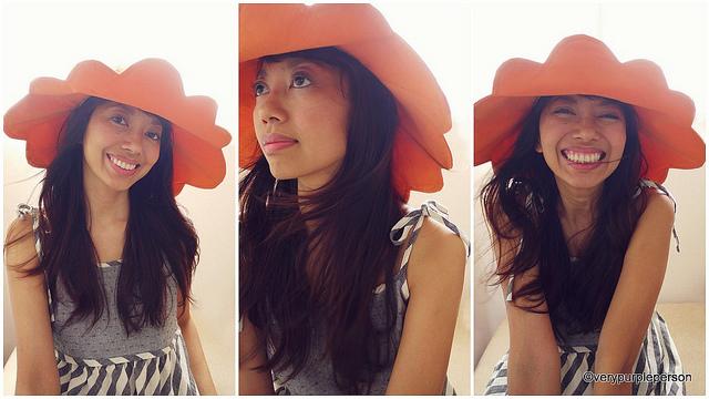 Scallop hat