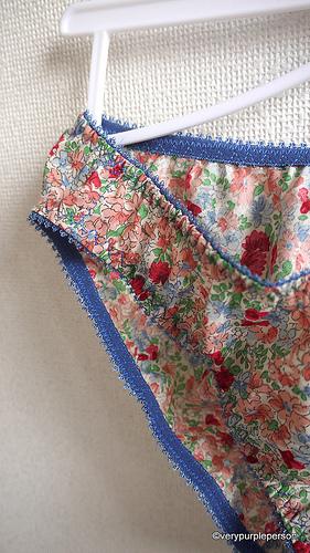 Floral lingerie set