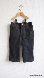 Boy's cropped jeans
