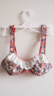 Yet another floral bra