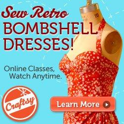 Sew Retro Bombshell Dresses!