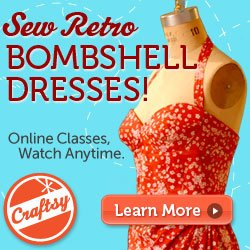 Machineless week and Bombshell dress online course