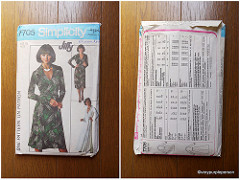 1976 Simplicity 7705 (DVF Wrap Dress Knockoff)