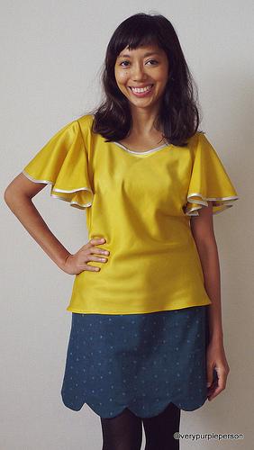 Taffy blouse & Meringue skirt