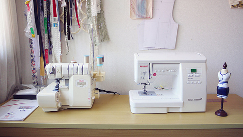 Babylock BL-75 and Janome Equle CP 4850