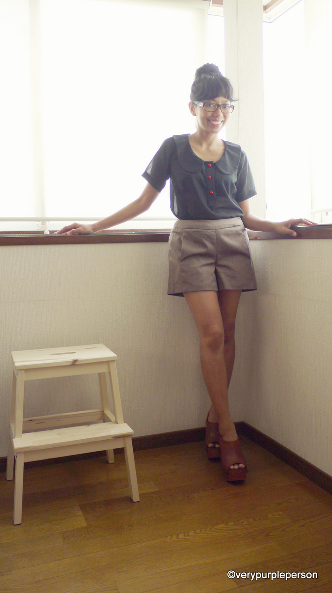 Banksia top and Iris shorts