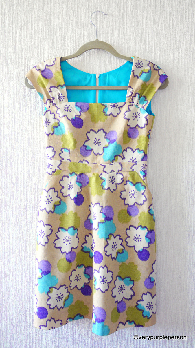 Cambie dress in Sakura