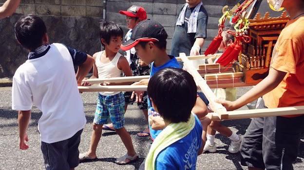 Kids' Mikoshi Parade