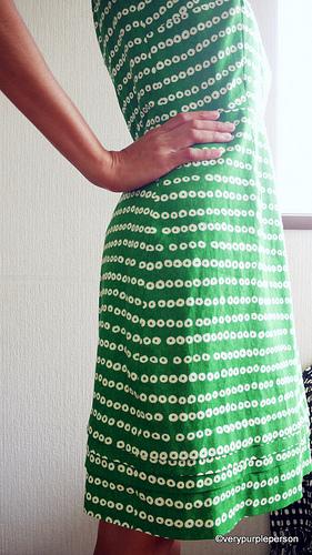 Green Pastille dress