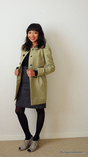 Pistachio green coat