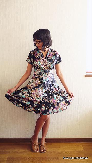 Velvet Tiramisu Dress