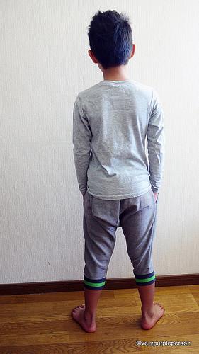 Grey sarouel