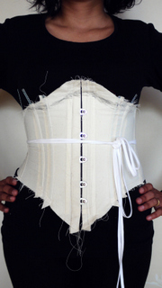 Corset in progress