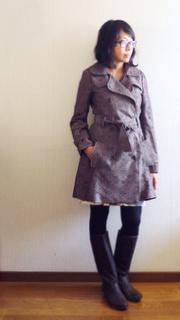 Pattern testing: Robson coat
