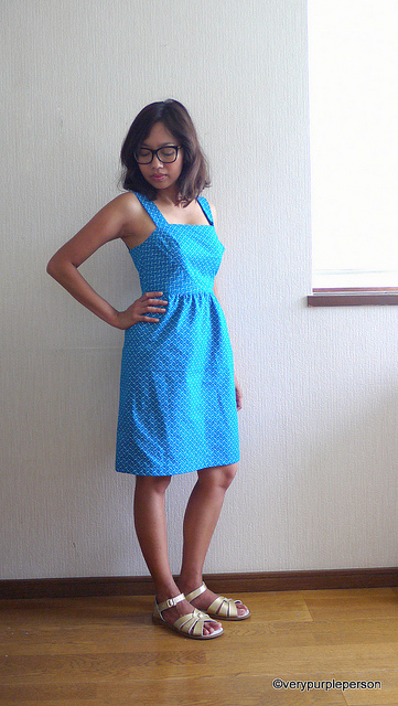 Shweshwe Hazel dress