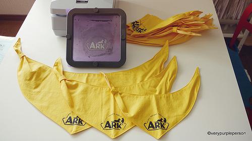 ARK dog scarves