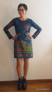 Ikat Sigma dress