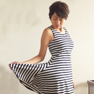 Striped Jorna dress- Perfect Pattern Parcel #3