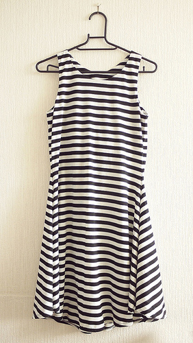 Striped Jorna dress