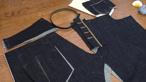 Selvedge men\'s jeans – Full of Patterns 07 – verypurpleperson