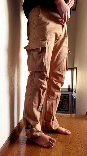 Cargo pants: failed