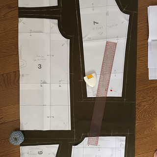 Making military jacket
