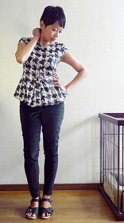 Cyd top and Wallis pants