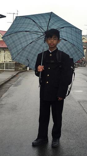 Junior high school boy!