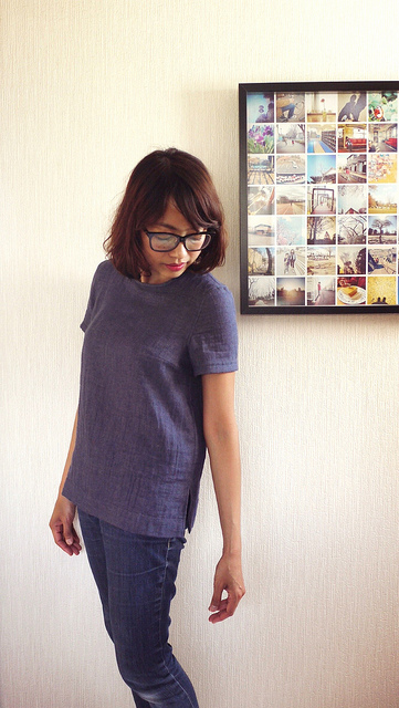 Burdastyle Retro Top 07/2013 #130