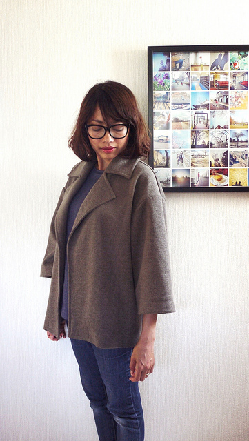 Burdastyle Wide Sleeve Lapel Jacket 02/2015 #122