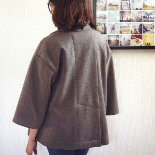 Burdastyle Wide Sleeve Lapel Jacket