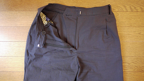 The Strides trousers