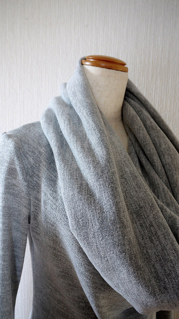 how to cut cowl neck pattern
