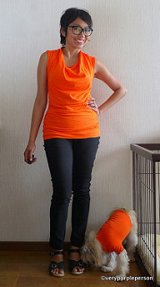 Issy top and Elle pants